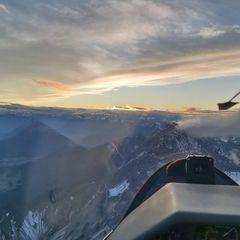 Flugwegposition um 16:03:41: Aufgenommen in der Nähe von Gemeinde Wildermieming, Österreich in 2768 Meter