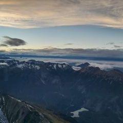 Flugwegposition um 16:09:12: Aufgenommen in der Nähe von Gemeinde Obsteig, Österreich in 2772 Meter