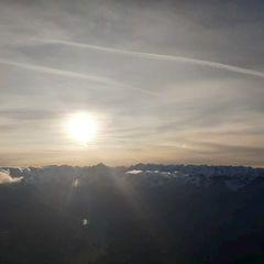 Flugwegposition um 14:13:55: Aufgenommen in der Nähe von Innsbruck, Österreich in 1416 Meter