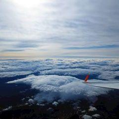 Flugwegposition um 12:45:16: Aufgenommen in der Nähe von Gemeinde St. Georgen ob Judenburg, Österreich in 5319 Meter