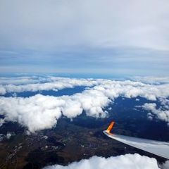 Flugwegposition um 13:34:44: Aufgenommen in der Nähe von Garanas, Österreich in 5216 Meter