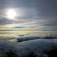 Flugwegposition um 15:08:49: Aufgenommen in der Nähe von Gemeinde Arzberg, 8162, Österreich in 2163 Meter