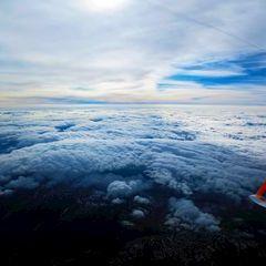 Flugwegposition um 13:35:03: Aufgenommen in der Nähe von Garanas, Österreich in 5232 Meter