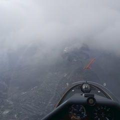 Flugwegposition um 11:23:14: Aufgenommen in der Nähe von Innsbruck, Österreich in 2917 Meter