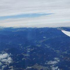 Flugwegposition um 13:04:15: Aufgenommen in der Nähe von Gemeinde Neuberg an der Mürz, 8692, Österreich in 4347 Meter