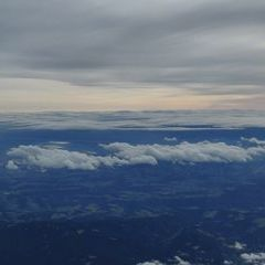 Flugwegposition um 13:46:12: Aufgenommen in der Nähe von Gemeinde St. Corona am Wechsel, St. Corona am Wechsel, Österreich in 4630 Meter