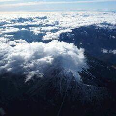 Flugwegposition um 10:19:37: Aufgenommen in der Nähe von Gemeinde Gutenstein, Österreich in 3650 Meter