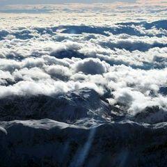 Flugwegposition um 11:17:01: Aufgenommen in der Nähe von Gußwerk, Österreich in 3923 Meter
