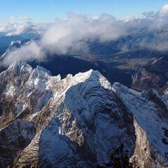 Flugwegposition um 11:47:50: Aufgenommen in der Nähe von Johnsbach, 8912 Johnsbach, Österreich in 2931 Meter