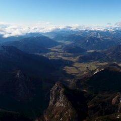 Flugwegposition um 11:50:30: Aufgenommen in der Nähe von Weng im Gesäuse, 8913, Österreich in 2904 Meter