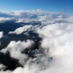 Flugwegposition um 13:34:38: Aufgenommen in der Nähe von Gemeinde Maria Alm am Steinernen Meer, 5761, Österreich in 3677 Meter