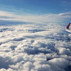Flugwegposition um 12:25:14: Aufgenommen in der Nähe von Gemeinde Reichenau an der Rax, Österreich in 4322 Meter