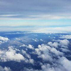 Flugwegposition um 12:31:52: Aufgenommen in der Nähe von Gemeinde Spital am Semmering, Österreich in 3870 Meter