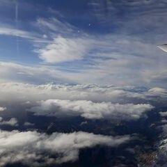 Flugwegposition um 10:53:21: Aufgenommen in der Nähe von Weißenbach an der Enns, Österreich in 3606 Meter