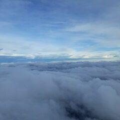 Flugwegposition um 12:56:53: Aufgenommen in der Nähe von Gemeinde Wörschach, 8942, Österreich in 3669 Meter
