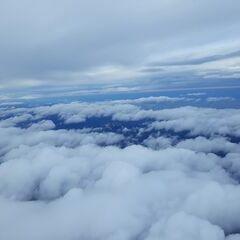 Flugwegposition um 13:23:54: Aufgenommen in der Nähe von Gemeinde Vorderstoder, Österreich in 4930 Meter