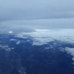 Flugwegposition um 13:58:41: Aufgenommen in der Nähe von Gemeinde Molln, Molln, Österreich in 6531 Meter