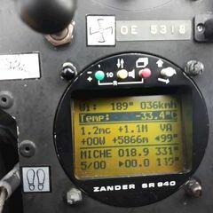 Flugwegposition um 13:51:14: Aufgenommen in der Nähe von Gemeinde Vorderstoder, Österreich in 6911 Meter