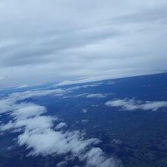 Flugwegposition um 13:59:19: Aufgenommen in der Nähe von Gemeinde Molln, Molln, Österreich in 6494 Meter