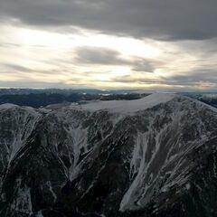 Flugwegposition um 13:50:28: Aufgenommen in der Nähe von Gemeinde Puchberg am Schneeberg, Österreich in 2095 Meter