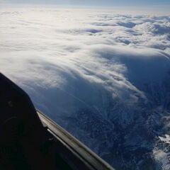 Flugwegposition um 11:34:30: Aufgenommen in der Nähe von Gußwerk, Österreich in 4087 Meter