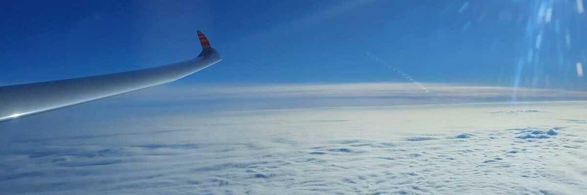 Flugwegposition um 11:44:51: Aufgenommen in der Nähe von Gußwerk, Österreich in 5782 Meter