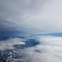 Flugwegposition um 11:41:16: Aufgenommen in der Nähe von Gußwerk, Österreich in 4243 Meter