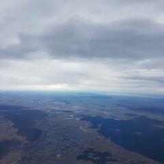 Flugwegposition um 10:40:35: Aufgenommen in der Nähe von Gemeinde Ternitz, Österreich in 3535 Meter