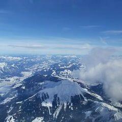 Flugwegposition um 11:28:25: Aufgenommen in der Nähe von Gemeinde Weerberg, 6133, Österreich in 4603 Meter