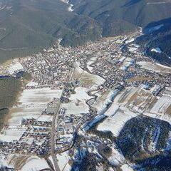 Verortung via Georeferenzierung der Kamera: Aufgenommen in der Nähe von Gemeinde Waidmannsfeld, Österreich in 1700 Meter