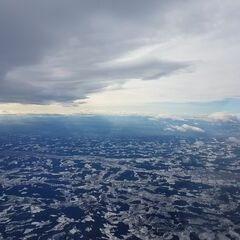 Flugwegposition um 11:18:30: Aufgenommen in der Nähe von Gemeinde Stubenberg am See, Österreich in 4125 Meter