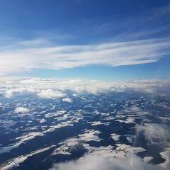 Verortung via Georeferenzierung der Kamera: Aufgenommen in der Nähe von Gemeinde Kobersdorf, Österreich in 4000 Meter