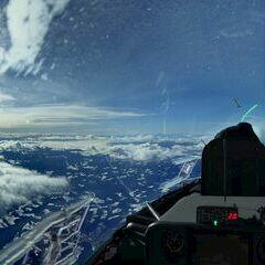 Verortung via Georeferenzierung der Kamera: Aufgenommen in der Nähe von Gemeinde Bärnbach, Österreich in 4629 Meter