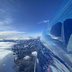 Verortung via Georeferenzierung der Kamera: Aufgenommen in der Nähe von Geistthal-Södingberg, Österreich in 4613 Meter