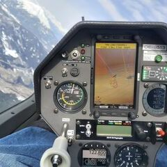 Flugwegposition um 09:45:45: Aufgenommen in der Nähe von Gemeinde Navis, Navis, Österreich in 2666 Meter