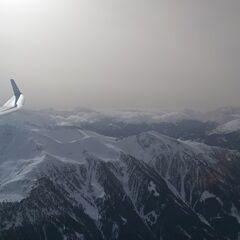 Flugwegposition um 11:05:20: Aufgenommen in der Nähe von Gemeinde Navis, Navis, Österreich in 2898 Meter
