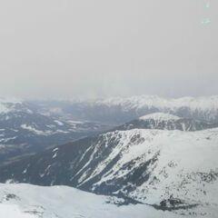 Flugwegposition um 11:54:16: Aufgenommen in der Nähe von Gemeinde Pfons, Österreich in 2813 Meter