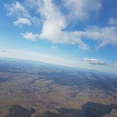 Verortung via Georeferenzierung der Kamera: Aufgenommen in der Nähe von Gemeinde Großwarasdorf, Österreich in 1303 Meter