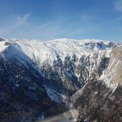 Flugwegposition um 13:25:46: Aufgenommen in der Nähe von Gemeinde Reichenau an der Rax, Österreich in 1638 Meter