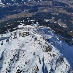 Flugwegposition um 12:37:32: Aufgenommen in der Nähe von Gemeinde Ellbögen, Österreich in 2597 Meter