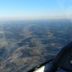 Flugwegposition um 15:35:16: Aufgenommen in der Nähe von Gemeinde Krottendorf, Österreich in 1503 Meter
