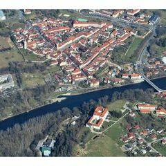 Flugwegposition um 12:10:54: Aufgenommen in der Nähe von Gornja Radgona, Slowenien in 1311 Meter