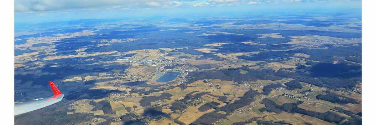 Flugwegposition um 10:20:26: Aufgenommen in der Nähe von Gemeinde Heiligenkreuz im Lafnitztal, 7561, Österreich in 1790 Meter