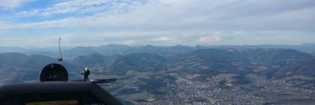 Flugwegposition um 14:31:53: Aufgenommen in der Nähe von Gemeinde St. Ruprecht an der Raab, 8181, Österreich in 1302 Meter