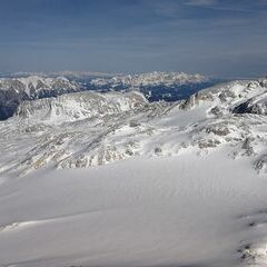 Flugwegposition um 14:10:47: Aufgenommen in der Nähe von Gemeinde Dienten am Hochkönig, Dienten am Hochkönig, Österreich in 3046 Meter