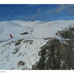 Flugwegposition um 13:24:20: Aufgenommen in der Nähe von Veitsch, St. Barbara im Mürztal, Österreich in 2002 Meter