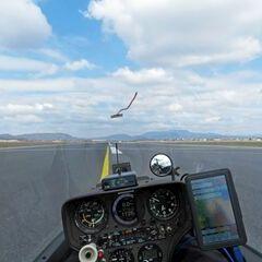 Flugwegposition um 10:30:00: Aufgenommen in der Nähe von Pirka, Österreich in 625 Meter