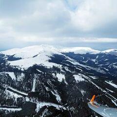 Flugwegposition um 11:34:47: Aufgenommen in der Nähe von Garanas, Österreich in 2118 Meter
