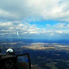 Flugwegposition um 13:50:35: Aufgenommen in der Nähe von Gemeinde Haselsdorf-Tobelbad, 8144, Österreich in 1483 Meter