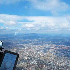 Flugwegposition um 10:43:46: Aufgenommen in der Nähe von Graz, Österreich in 1749 Meter